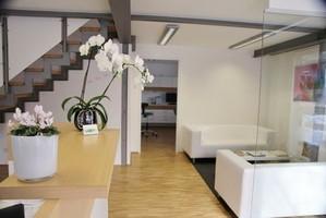 Empfangsraum, Zahnarztpraxis für Kieferorthopädie Buchberg